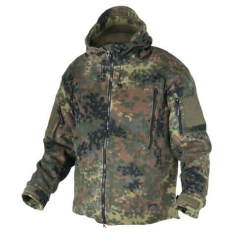Helikon-Tex Patriot Jacke - Double Fleece- Flecktarn