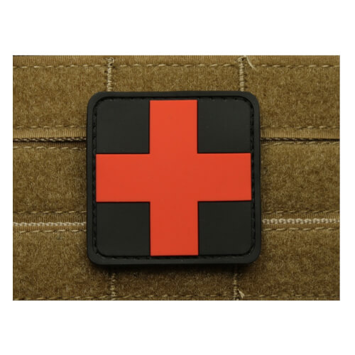 JTG RedCross Medic Patch, blackmedic