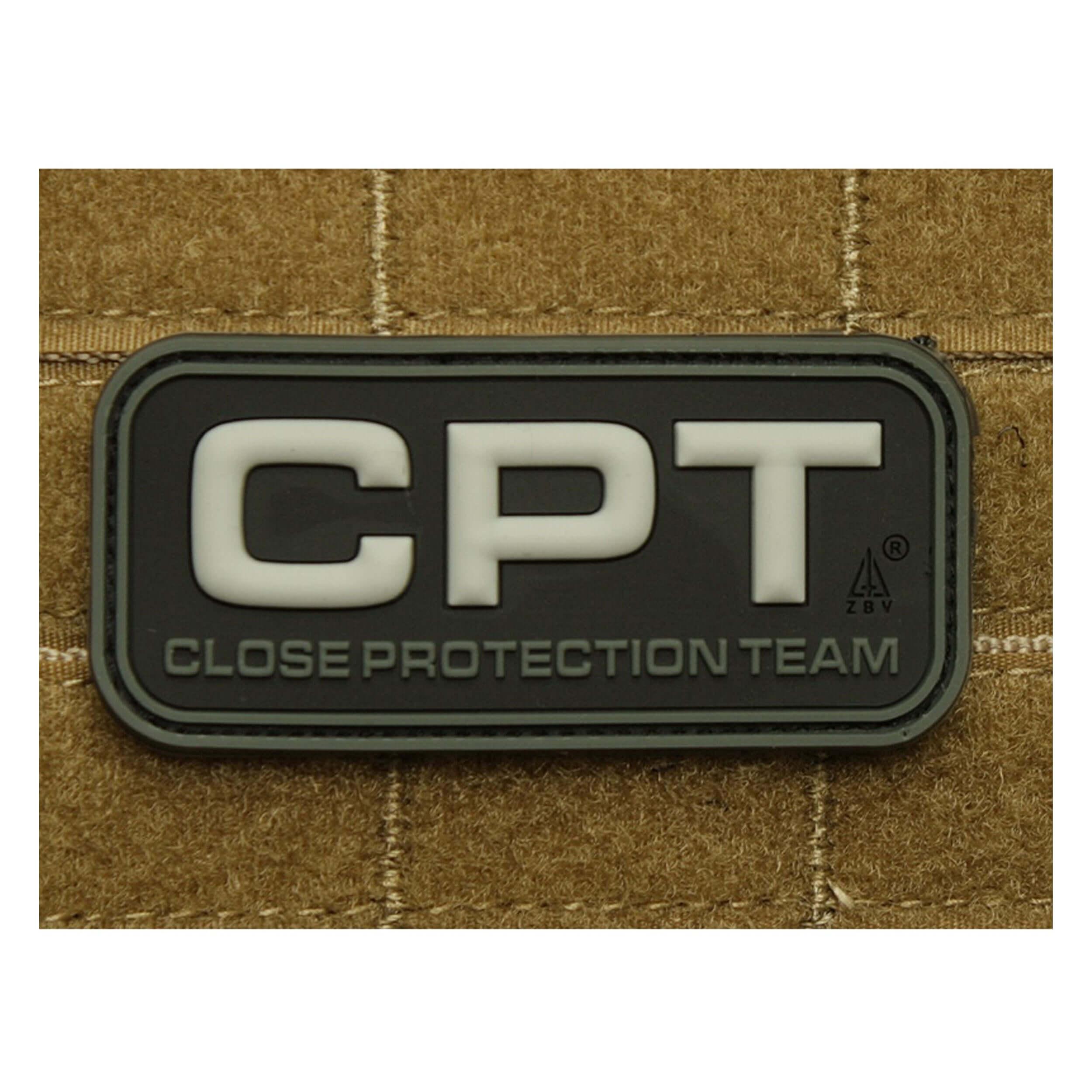 JTG CPT - Close Protection Team / Personenschutz - Patch swat