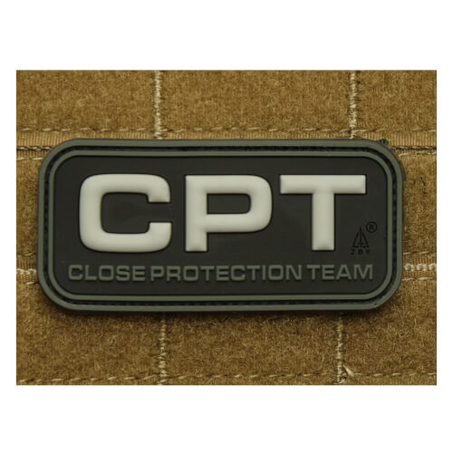 JTG CPT - Close Protection Team / Personenschutz - Patch swat