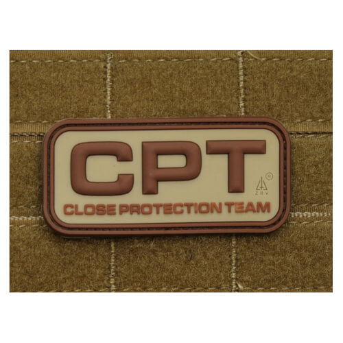 JTG CPT - Close Protection Team / Personenschutz - Patch desert