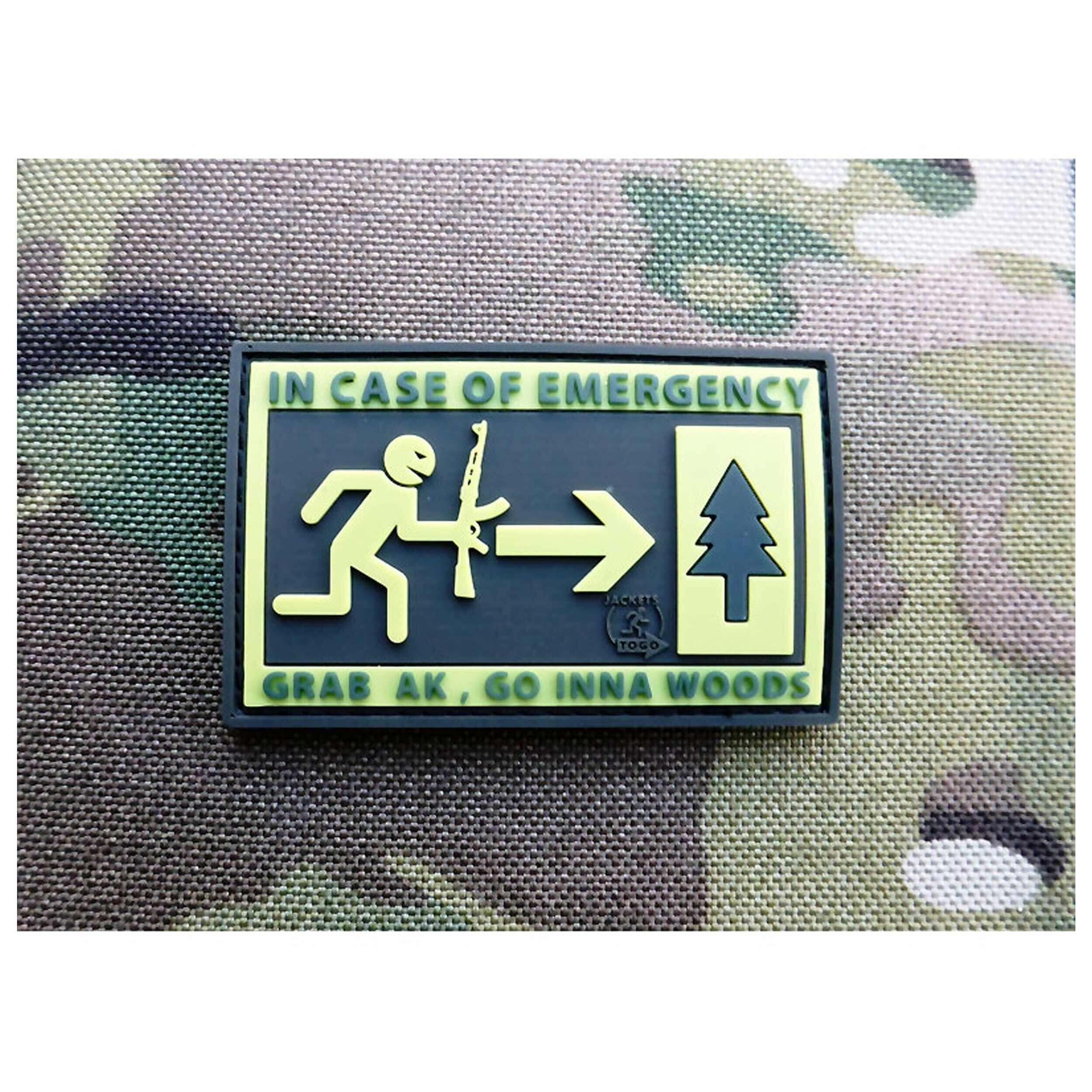 JTG - Emergency Patch, fullcolor / 3D Rubber patch