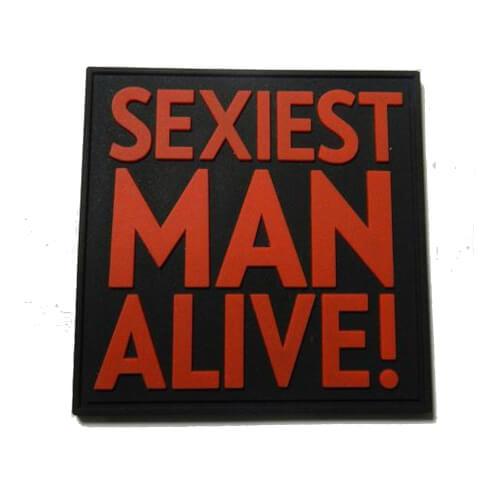 JTG Sexiest Man Alive! PVC Patch - blackmedic
