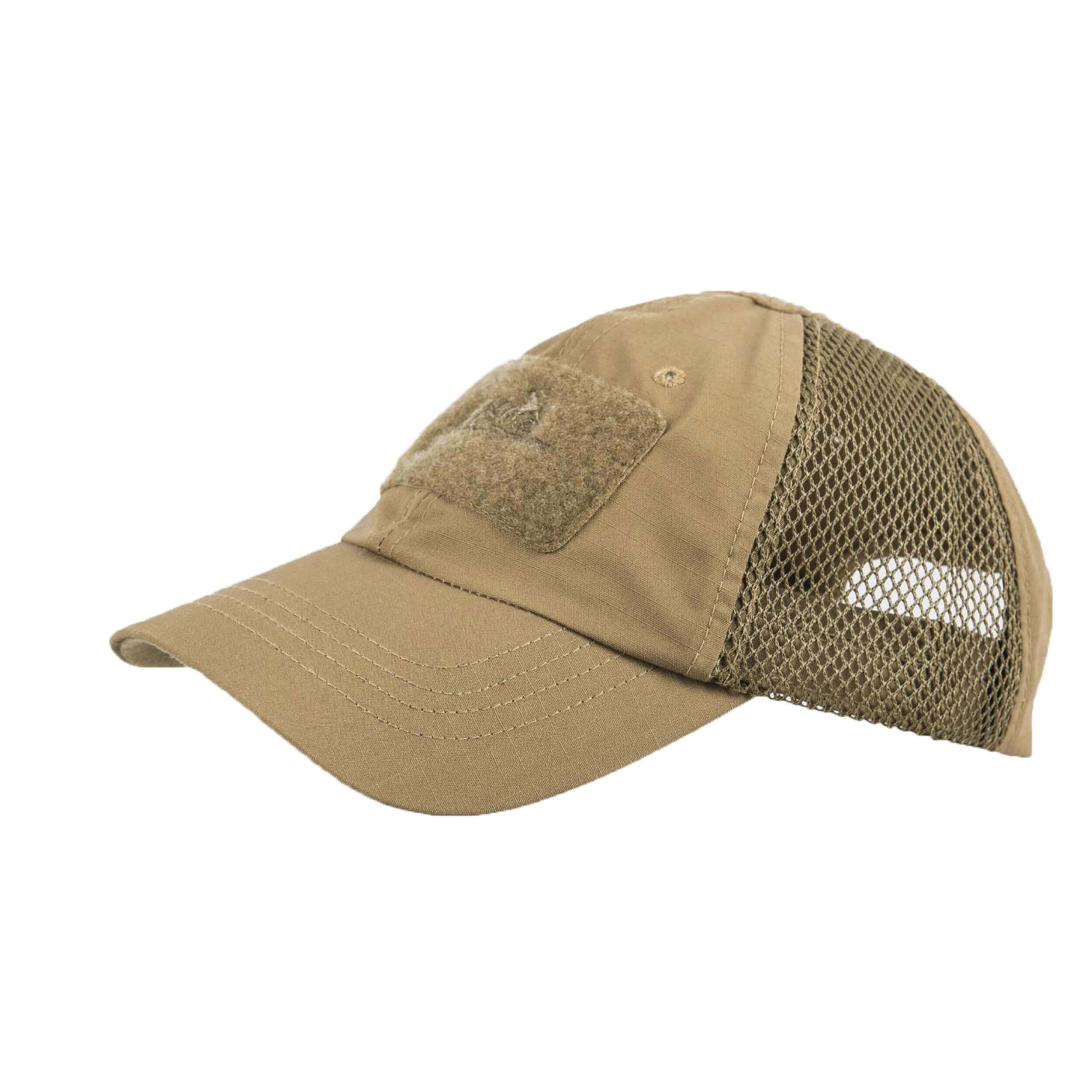Helikon-Tex Baseball Vent Cap - PolyCotton Ripstop - Coyote