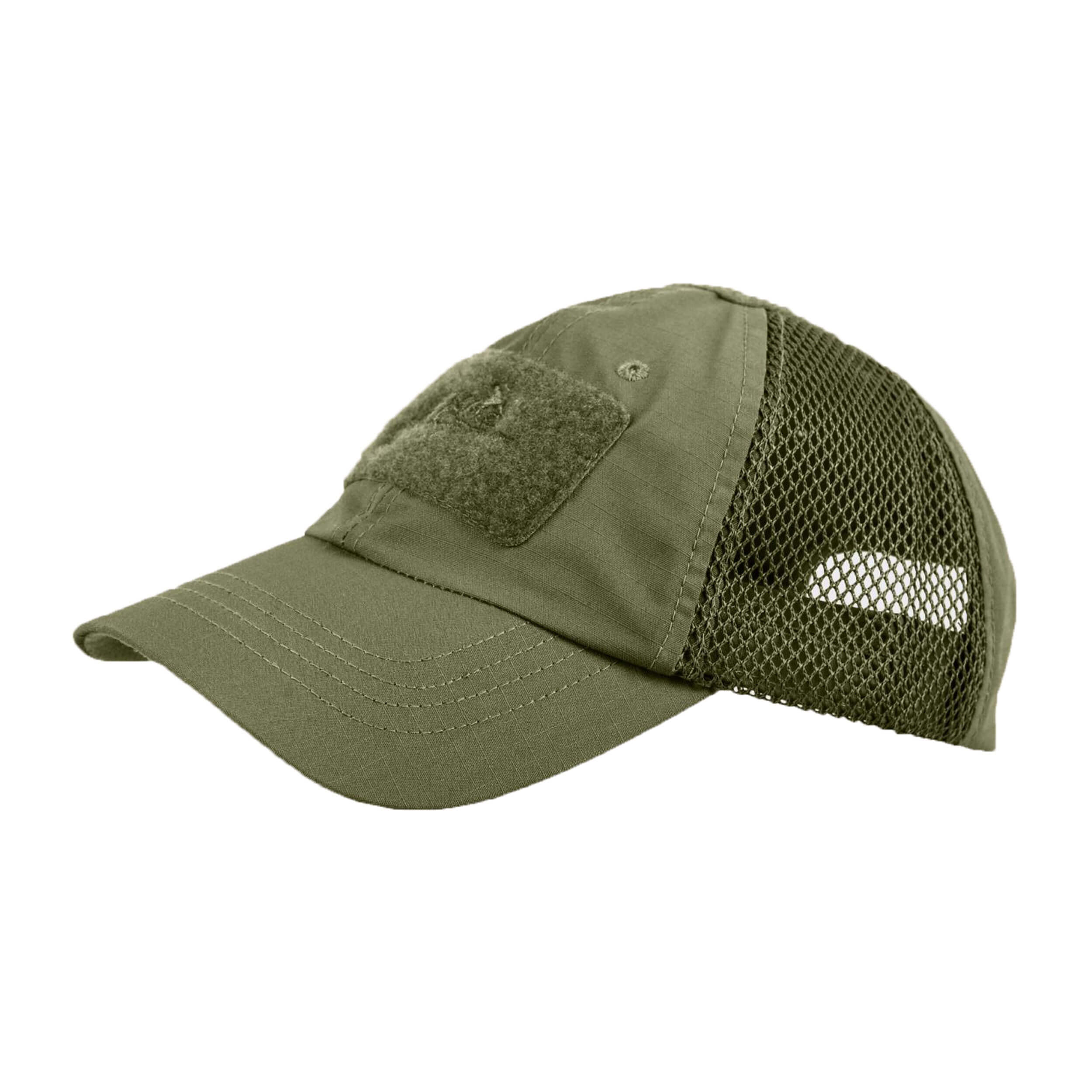 Helikon-Tex Baseball Vent Cap - PolyCotton Ripstop - Olive Green