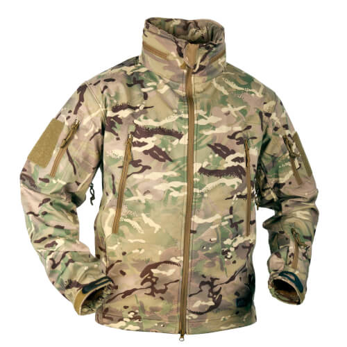 Helikon-Tex Gunfighter Jacke - Shark Skin Windblocker - MP Camo