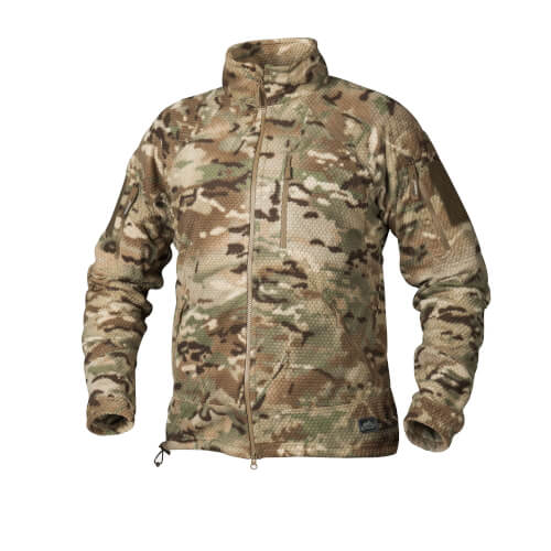 Helikon-Tex Alpha Tactical -Grid Fleece- Jacke Camogrom