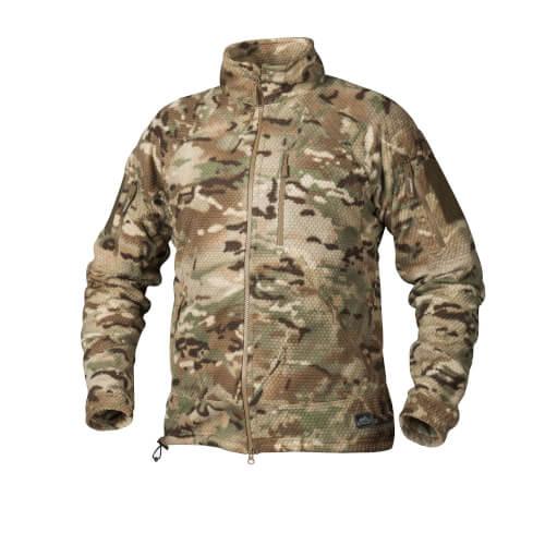 Helikon-Tex Alpha Tactical -Grid Fleece- Jacke Camogrom