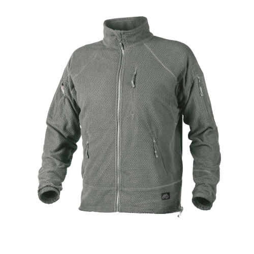 Helikon-Tex Alpha Tactical -Grid Fleece- Jacke Foliage Green