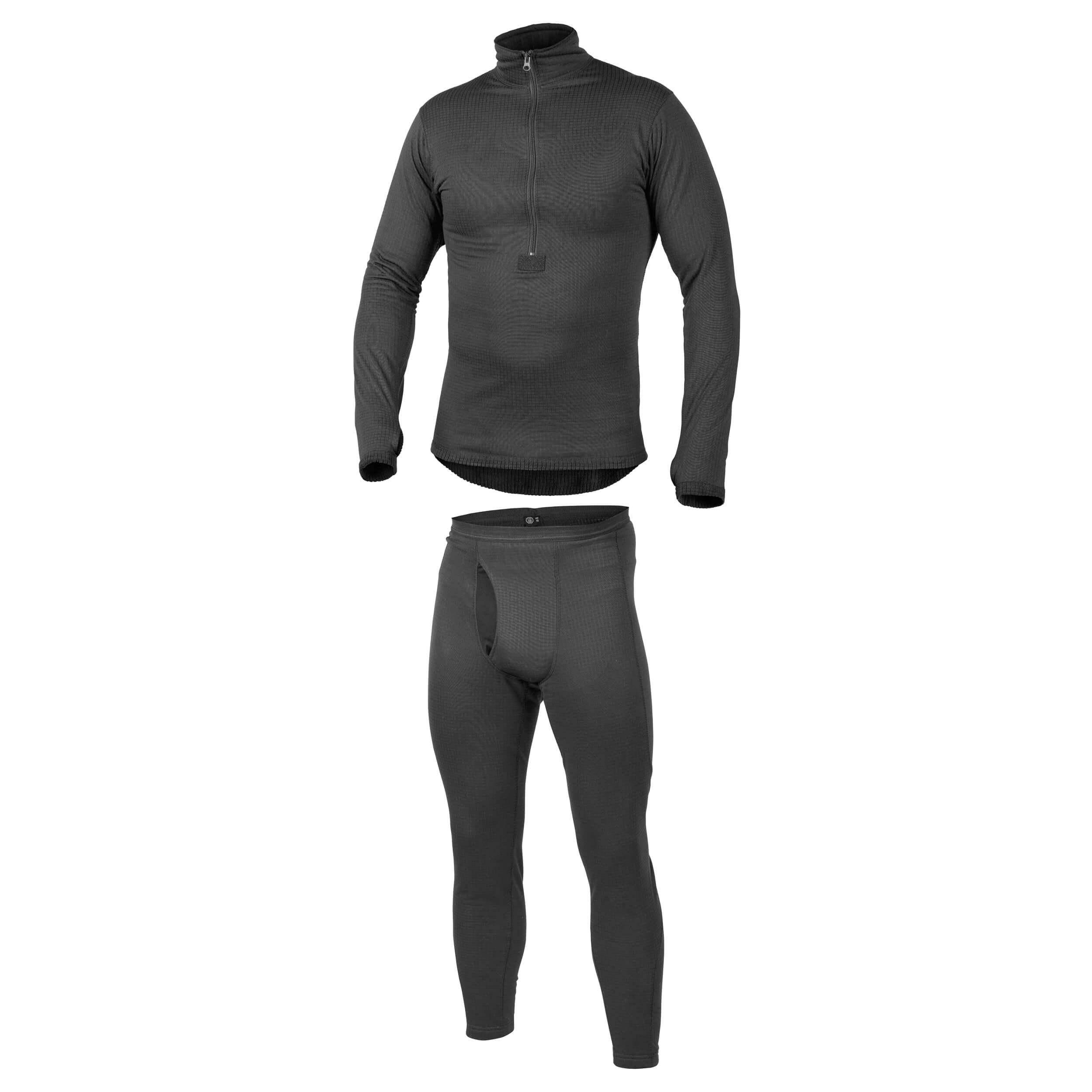 Helikon-Tex Underwear (full set) US LVL 2 Schwarz