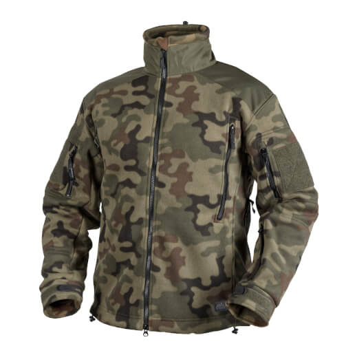 Helikon-Tex Liberty Jacke -Heavy Fleece- PL Woodland
