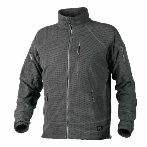 Helikon-Tex Alpha Tactical -Grid Fleece- Jacke Shadow Grey