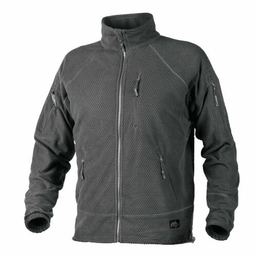 Helikon-Tex Alpha Tactical -Grid Fleece- Jacke Shadow Grey