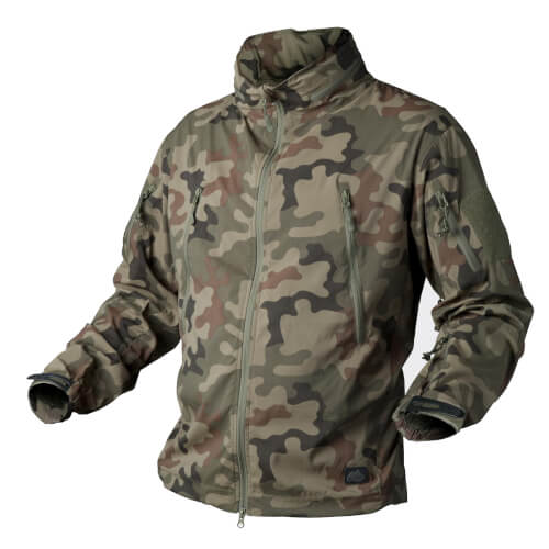 Helikon-Tex Trooper Jacke - StormStretch-  PL Woodland