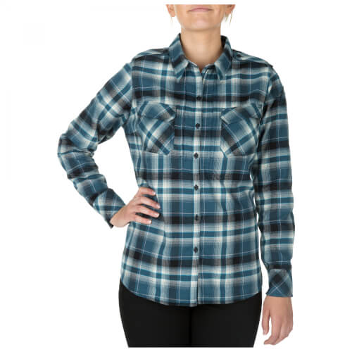 5.11 Tactical HEARTBREAKER FLANNEL SHIRT - NEPTUNE
