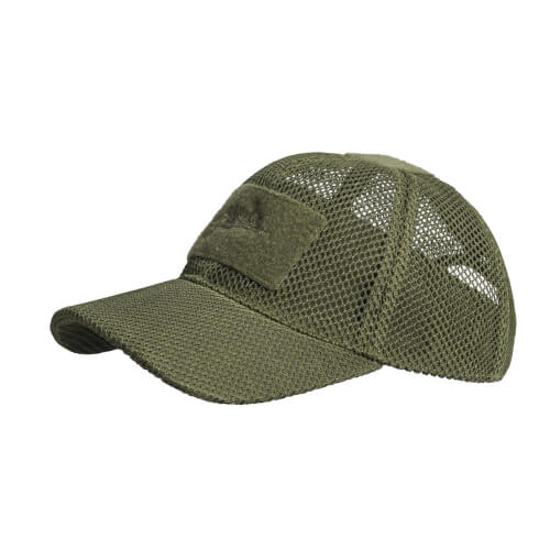 Helikon-Tex BBC Mesh Cap - Mesh Polyester - Olive Green