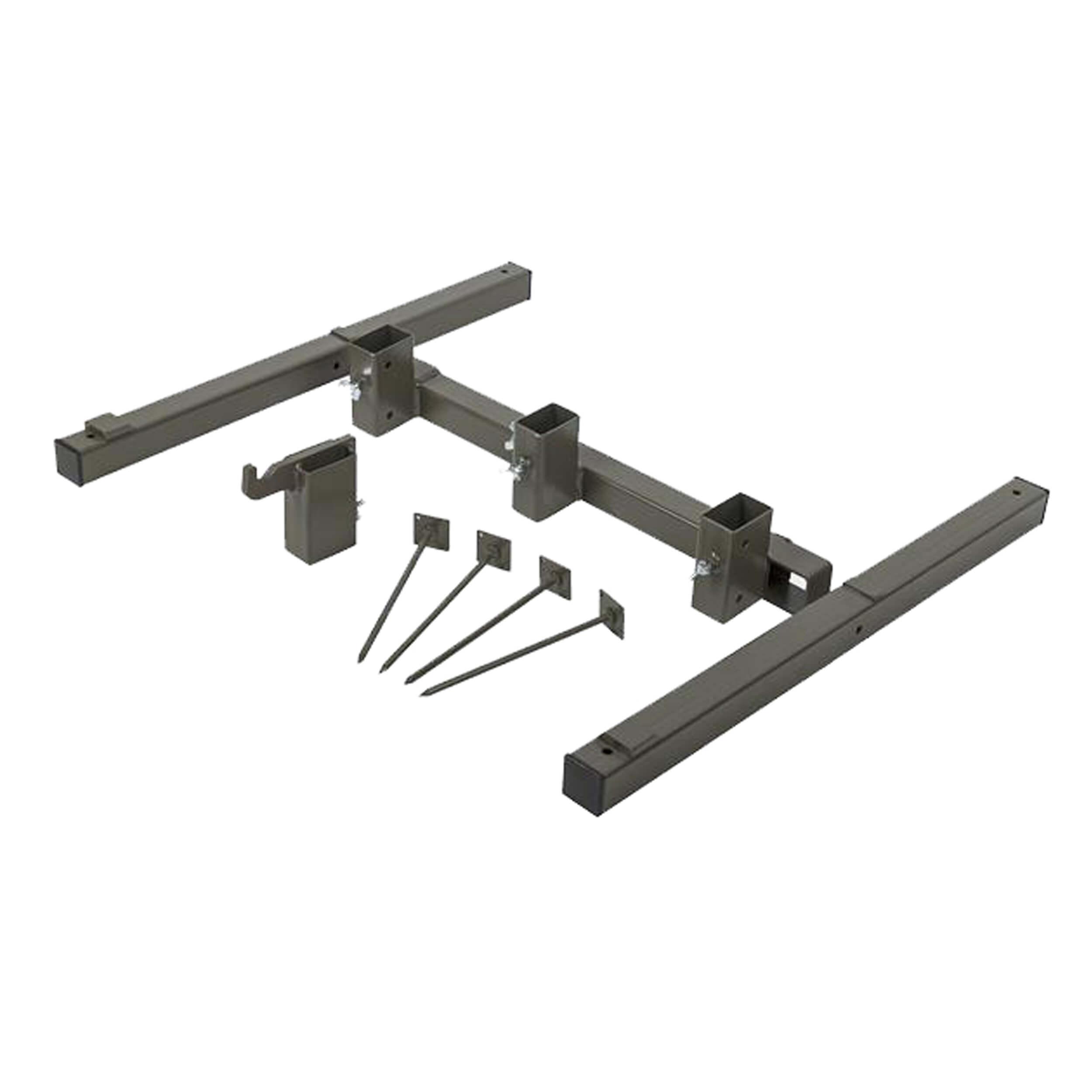 Helikon-Tex Foldable Metal Stand - Steel - Brown Grey