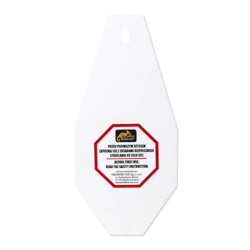 Helikon-Tex SRT Mini Alpha Target STAHL-ZIEL - Weiß