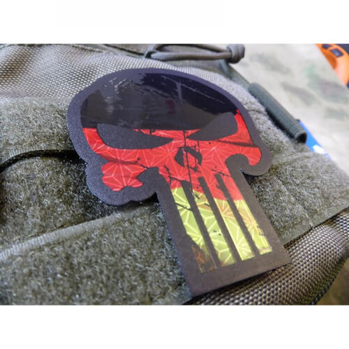JTG BIG Punisher - IR Infrarot Patch mit Deutschlandflagge