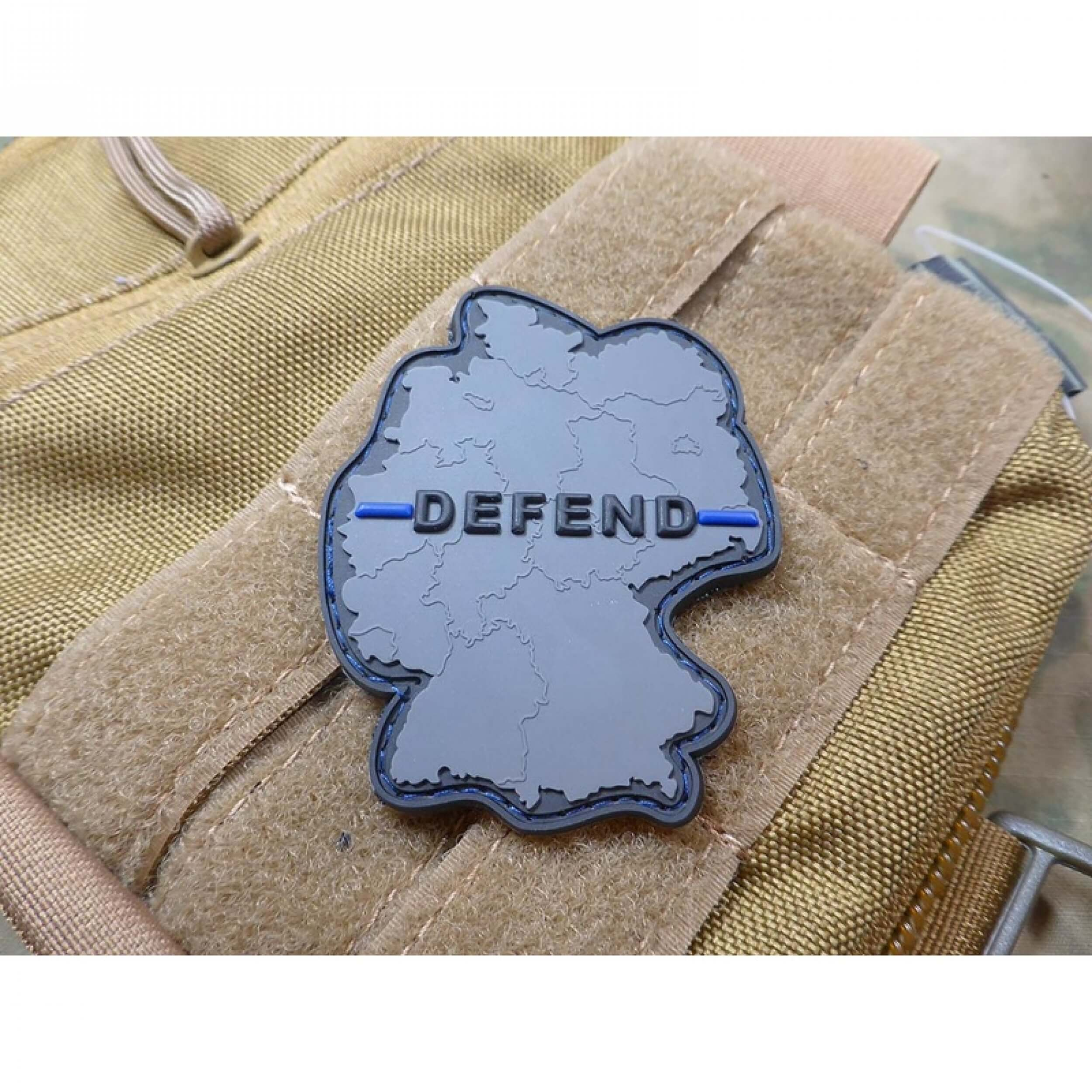 JTG Defend Patch, Thin Blue Line, Special Edition
