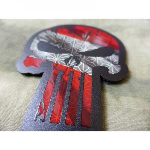 JTG BIG Punisher - IR Infrarot Patch mit Österreichischer Flagge / JTG 3D IR Patch /