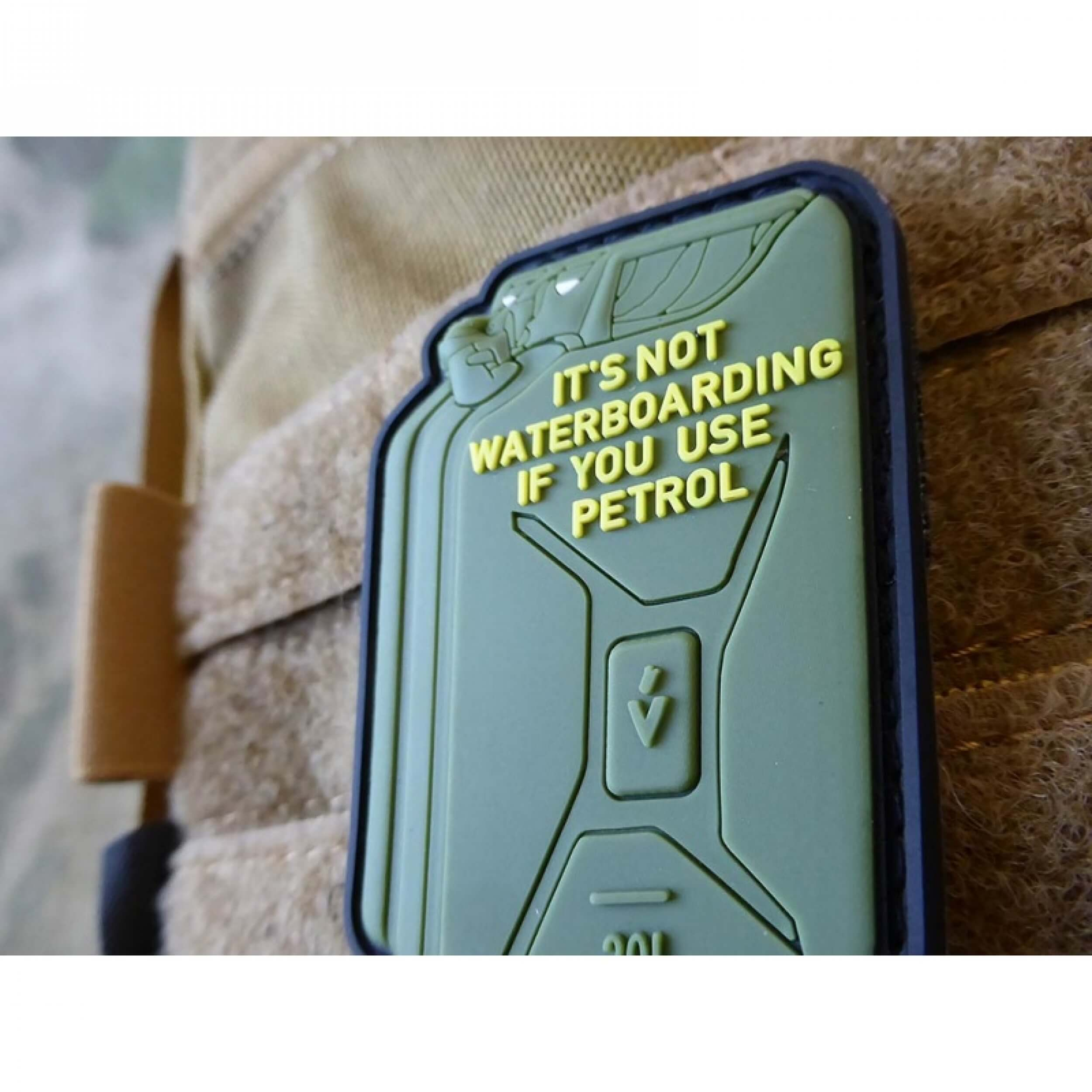 JTG Not For Everybody Petrol Waterboarding, / 3D Rubber Patch