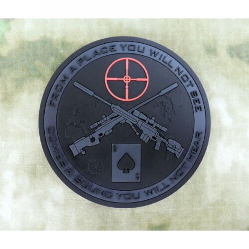 JTG - Sniper Coaster / Untersetzer / 3D PVC Bierdeckel - blackops