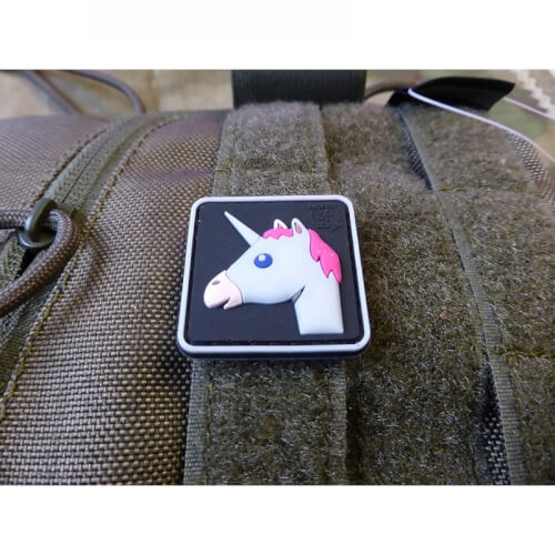JTG Einhorn Patch, fullcolor / JTG 3D Rubber Patch