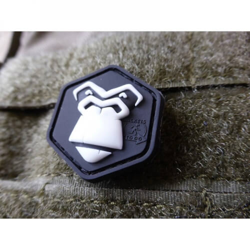 JTG Gorilla cat eye Patch 3D Rubber Patch