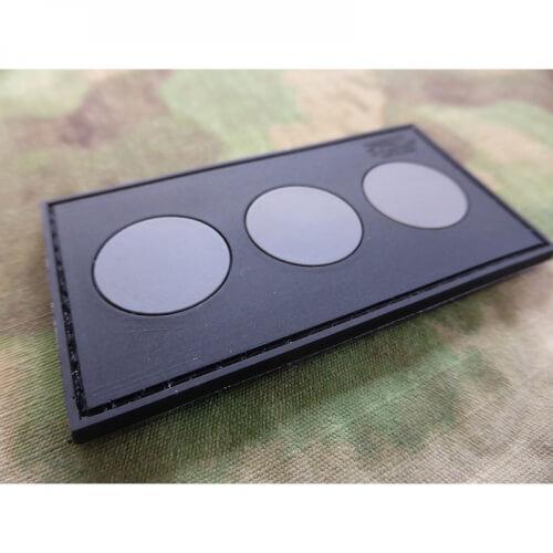 JTG Polizeifunktionsabzeichen Zugführer Patch, blackops 3D Rubber Patch