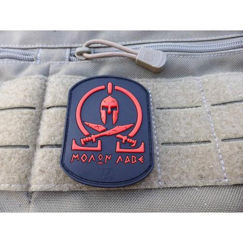 JTG - Molon Labe Spartan Patch, blackmedic