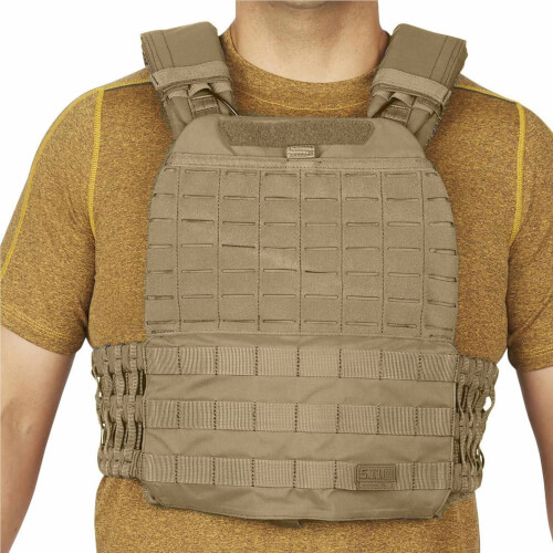 5.11 Tactical TacTec Plate Carrier Sandstone