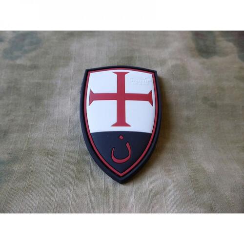 JTG Crusader Shield Patch, fullcolor / 3D Rubber Patch