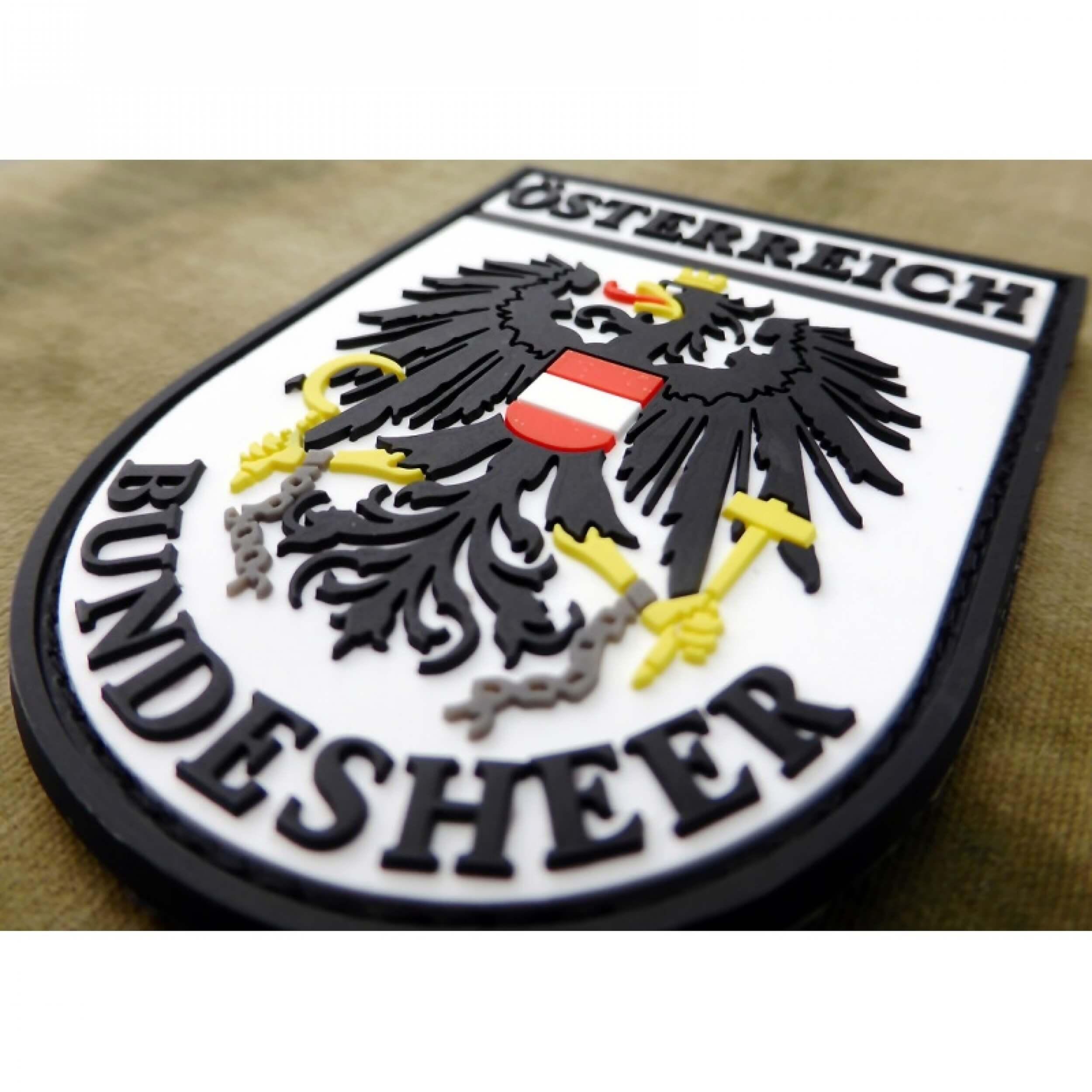 JTG Ärmelabzeichen Österreich Bundesheer, fullcolor / 3D Rubber Patch