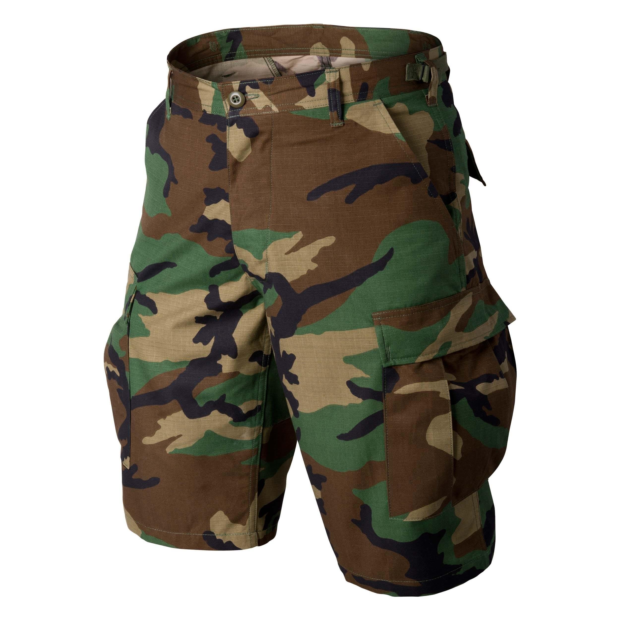 Helikon-Tex BDU Shorts -Cotton Ripstop- US Woodland