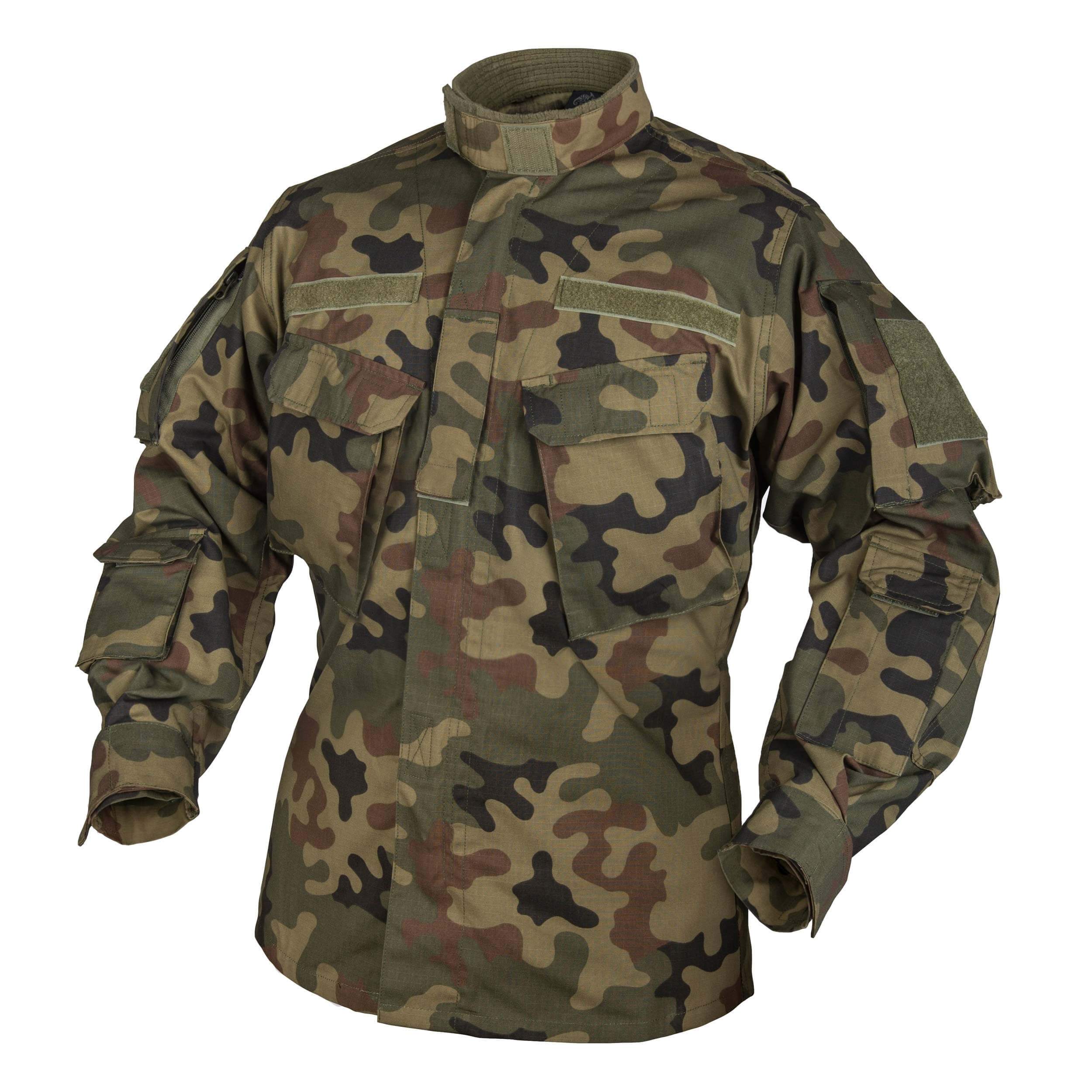 Helikon-Tex CPU Shirt - PolyCotton Ripstop - PL Woodland