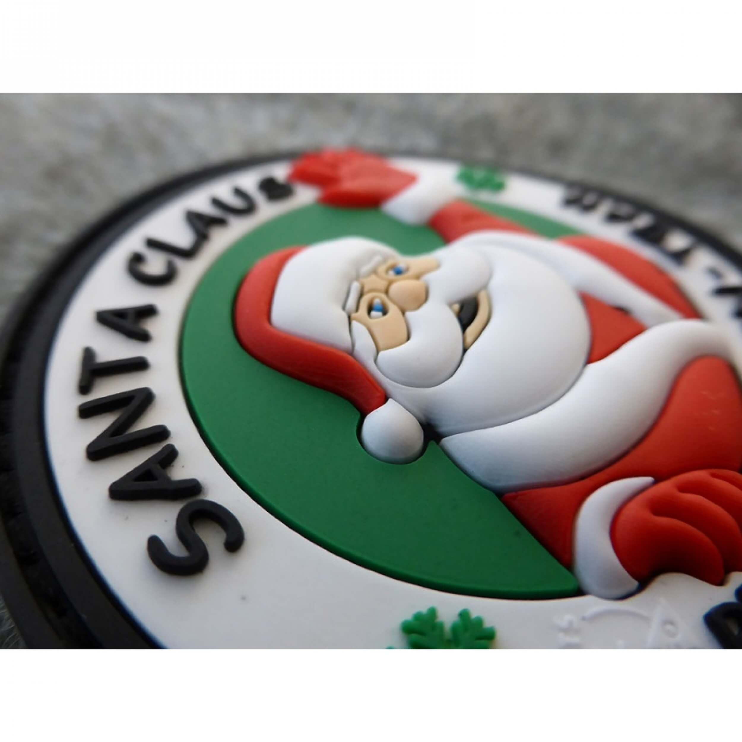 Weihnachtsmann Santa Claus Protection Team Patch