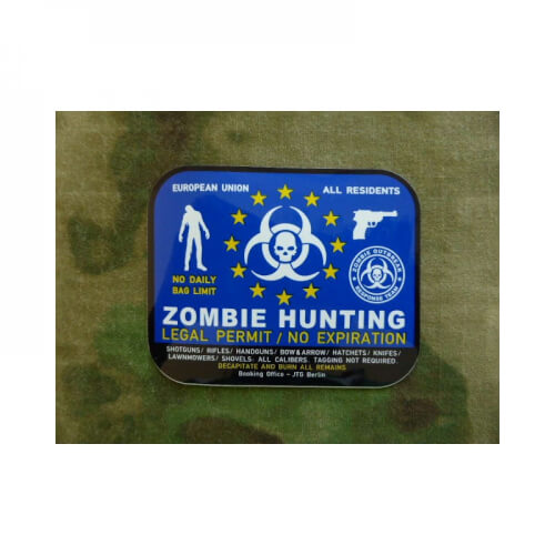 JTG Zombie Hunting Sticker / Aufkleber