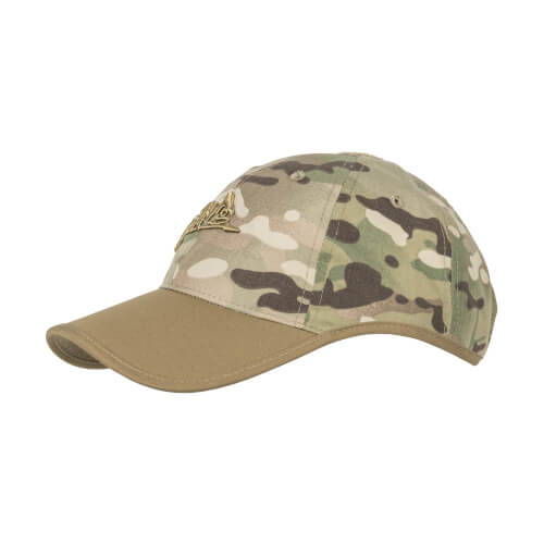 Helikon-Tex Logo Cap -PolyCotton Ripstop- Camogrom / Coyote A