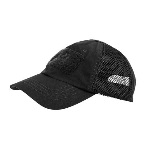 Helikon-Tex Baseball Vent Cap - PolyCotton Ripstop - Schwarz