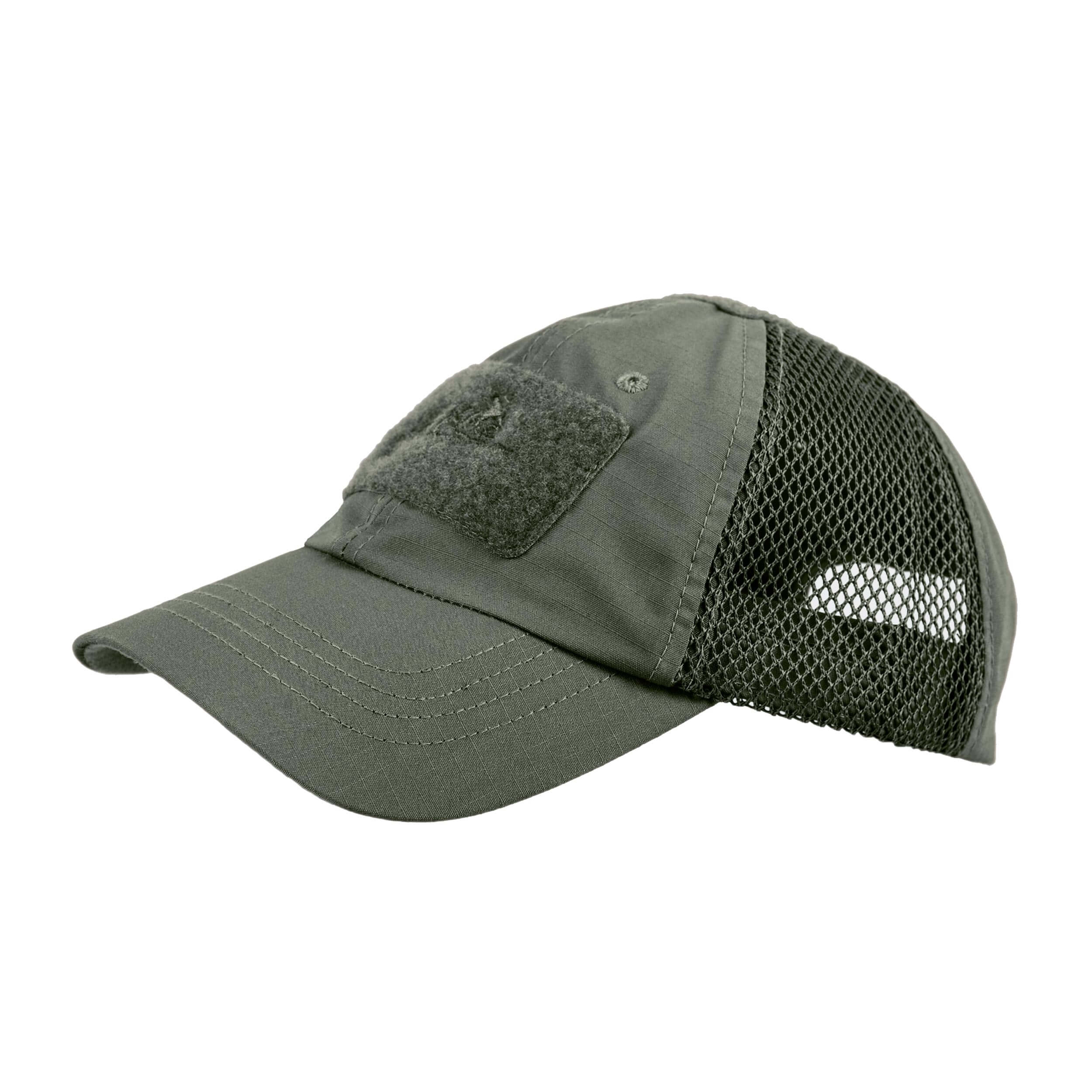 Helikon-Tex Baseball Vent Cap - PolyCotton Ripstop - Olive Drab
