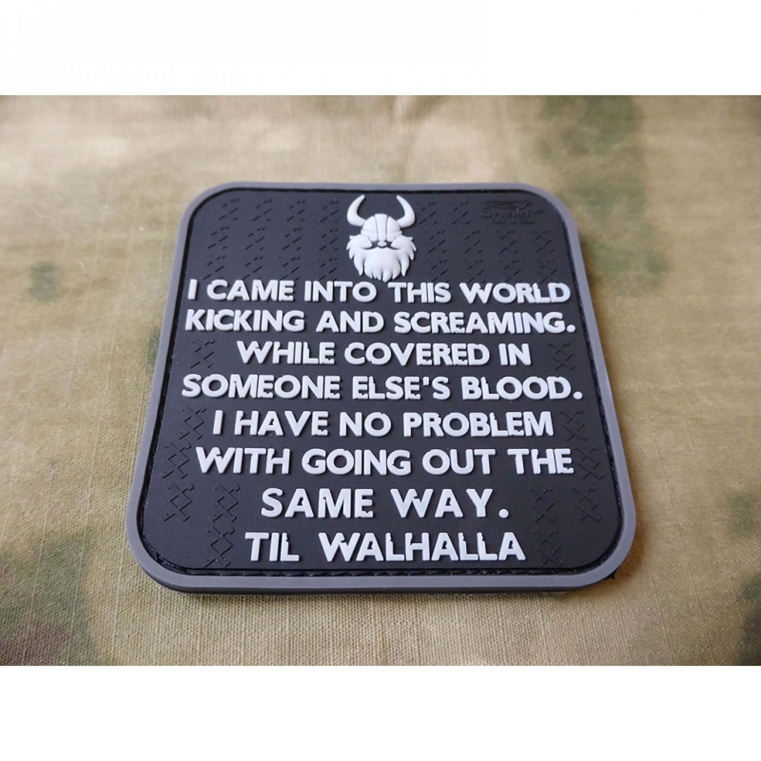 Vikings Way of Life Patch, swat / JTG 3D Rubber Patch