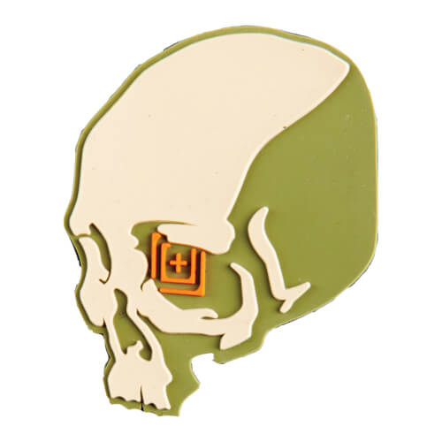 5.11 Tactical Skull Shot Patch Sand