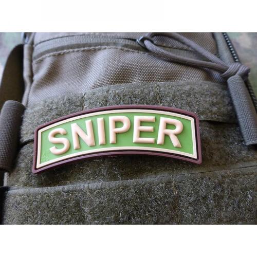 JTG SNIPER Tab PVC Patch - multicam