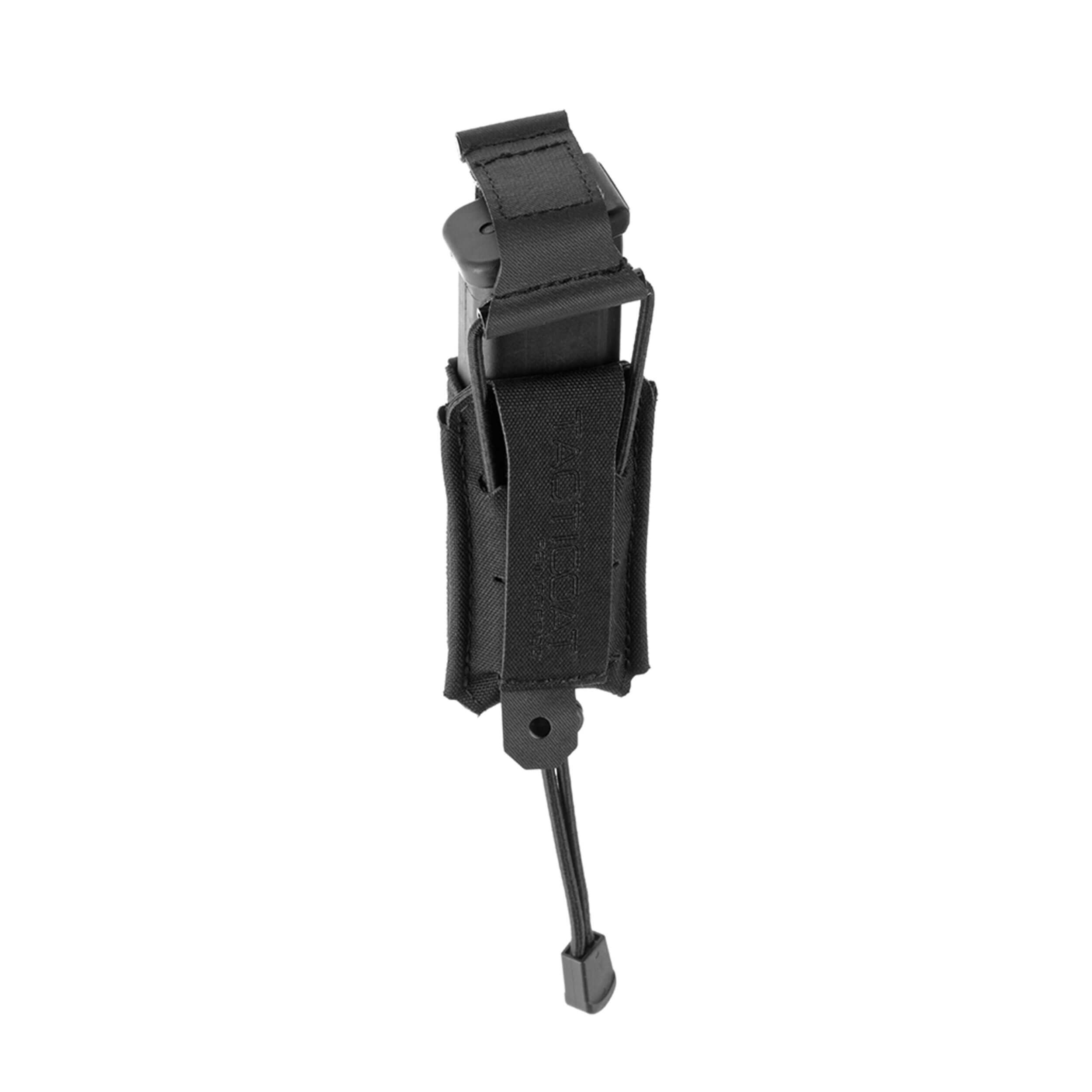 Clawgear 9mm Backward Flap Magazin Tasche Schwarz