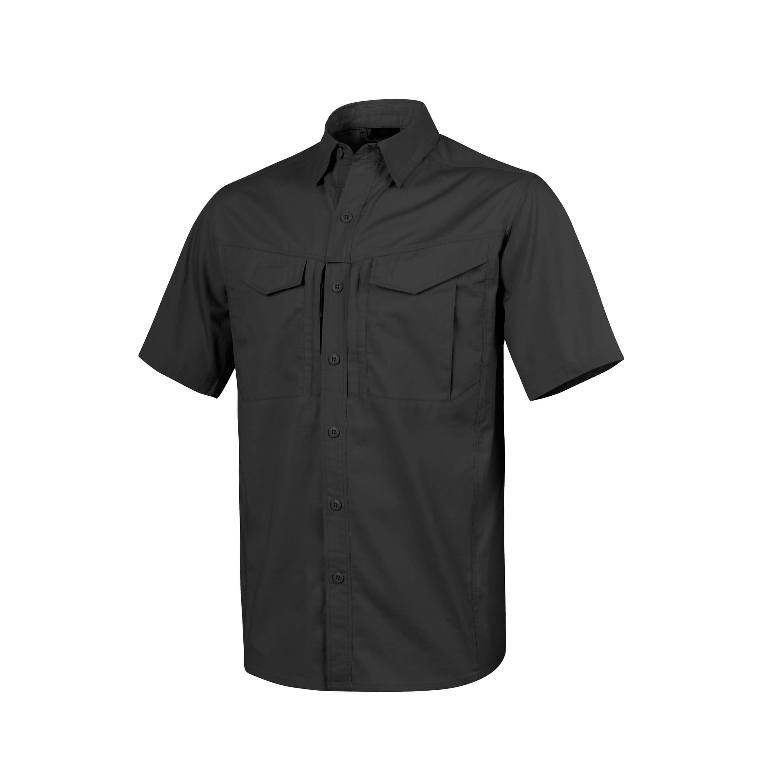 Helikon-Tex Defender Mk2 Short Sleeve Shirt Schwarz