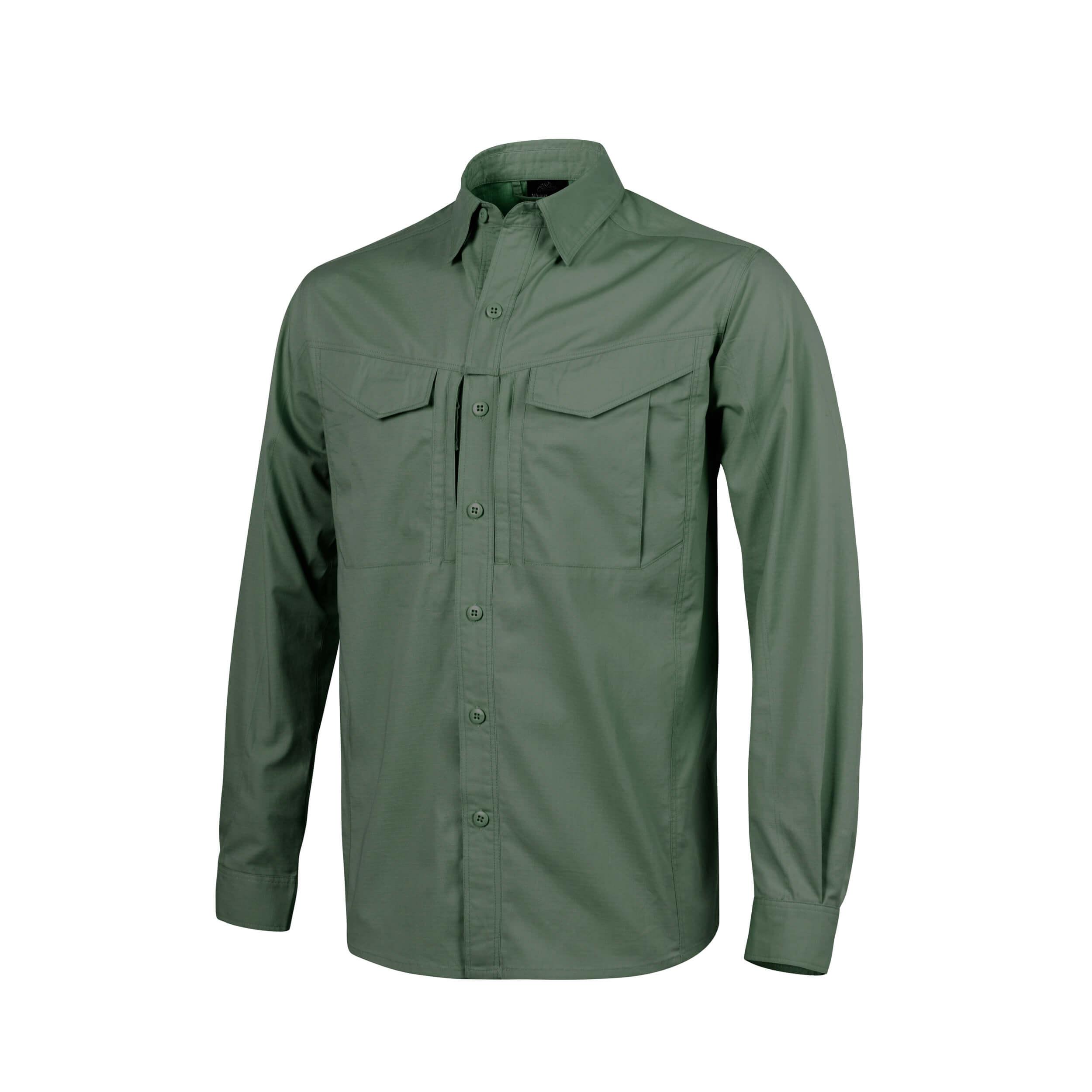 Helikon-Tex Defender Mk2 Long Sleeve Shirt Olive Green
