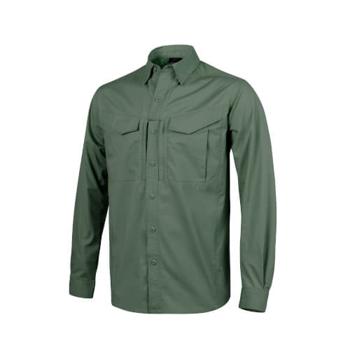 Helikon-Tex Defender Mk2 Long Sleeve Shirt Olive Green
