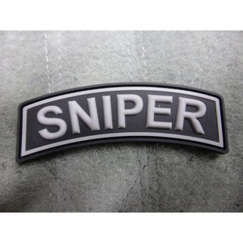 JTG Sniper Tab Patch, swat / 3D Rubber Patch