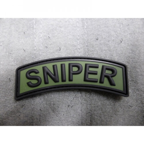 JTG Sniper Tab Patch, forest / 3D Rubber Patch